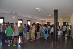 Aula grande del Centro Socio Cultural