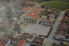 Vista aerea Plaza Mayor de Palacios del Pan