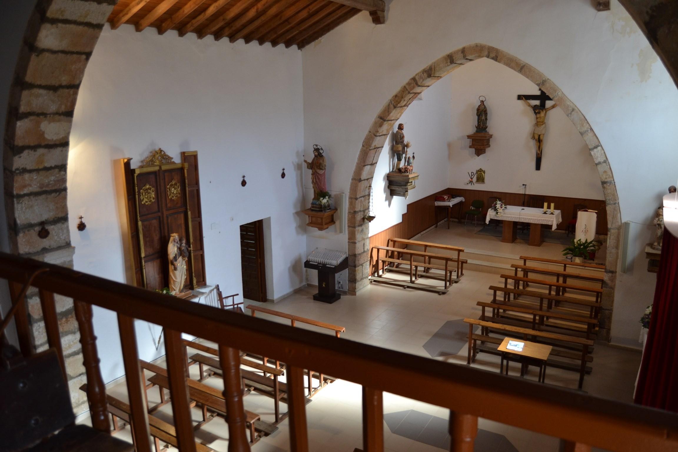 interior de la Iglesia de Santa Eulalia